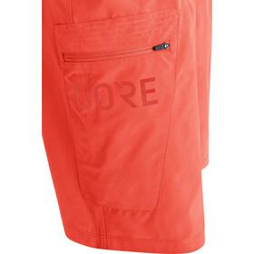 GORE WEAR Passion Pantaloncini Uomo, rosso